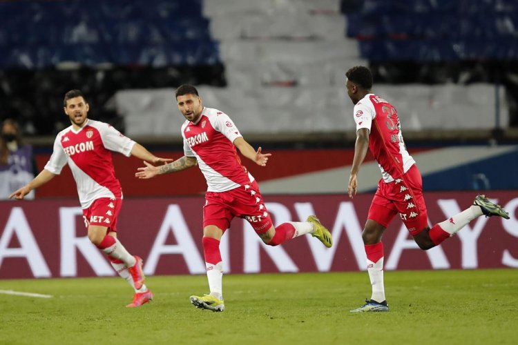 PSG slips to 3rd after losing to Monaco; Lille stays top