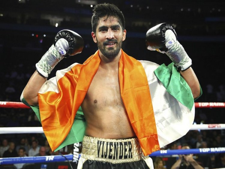 Vijender Singh returns to ring this March with aim to extend winning streak