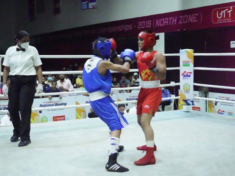 SSCB dominate in junior boxing