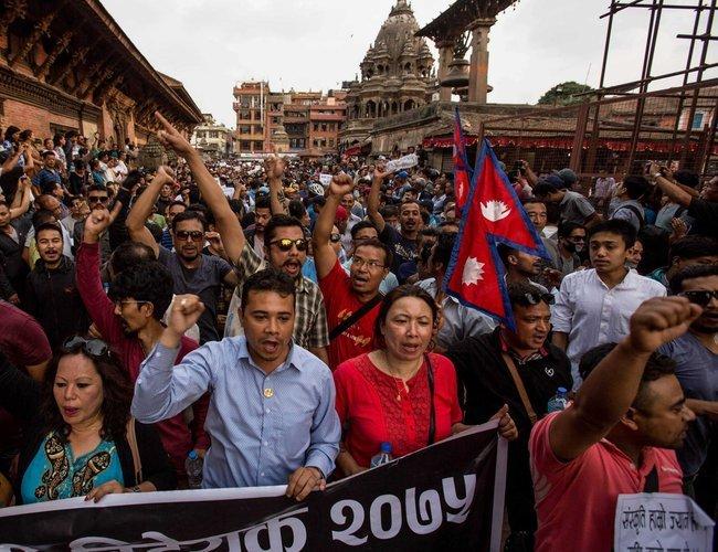 Nepal's ethnic Newaris protest against Guthi bill