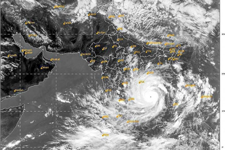 Cyclone Amphan Hits West Bengal