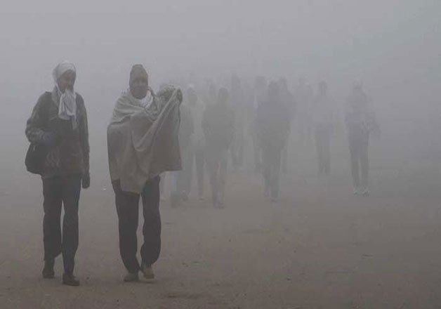 Dense fog in parts of Uttar Pradesh
