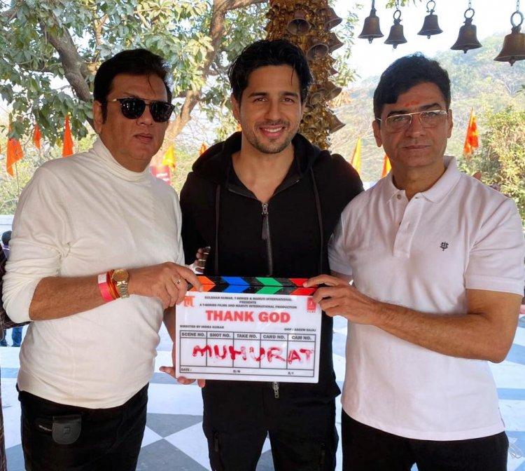 "Sri Adhikari Brothers (SAB GROUP) Associated with Mega Film Project ""Thank God"" as Producer"